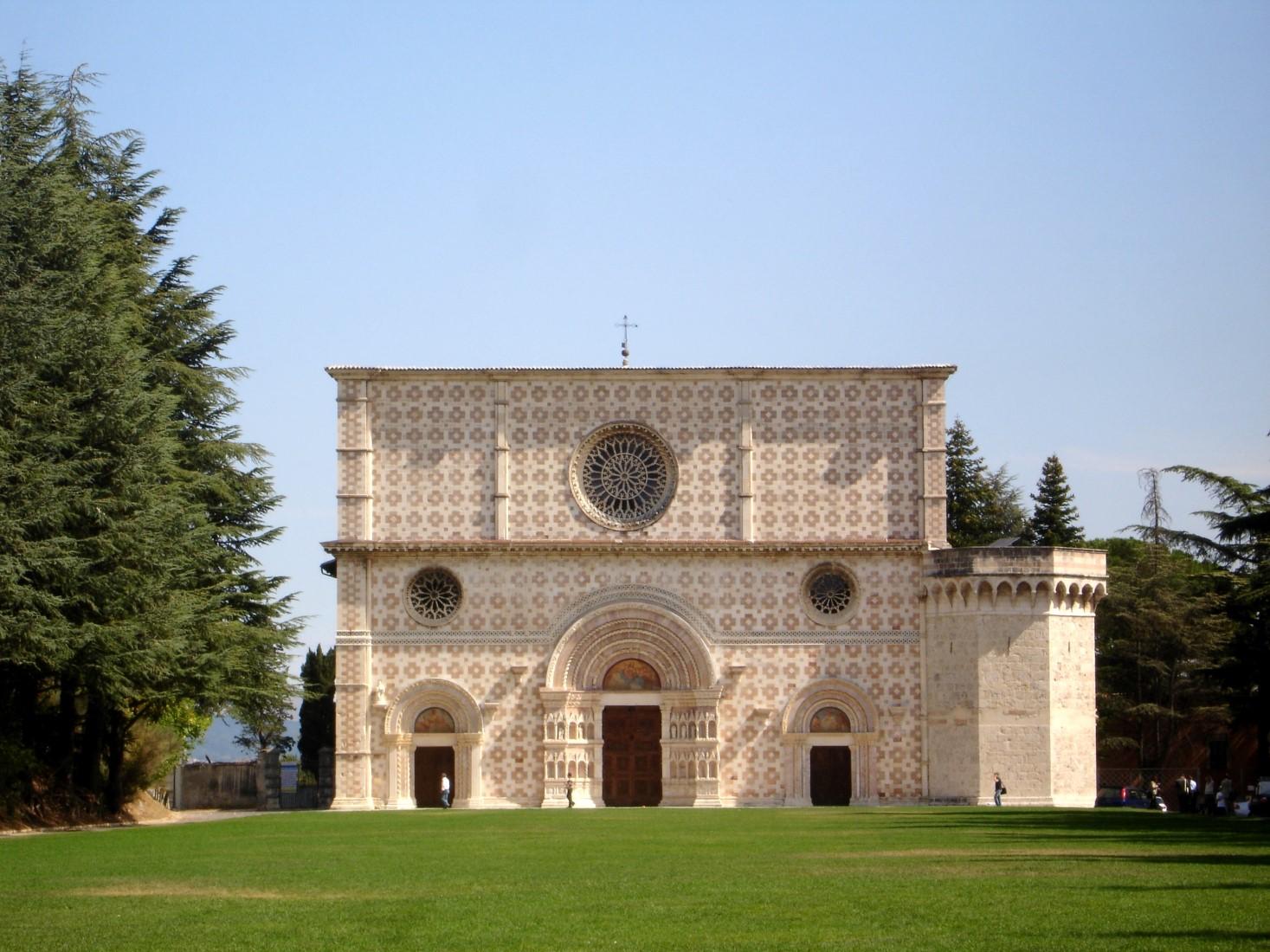 Collemaggio L'Aquila Meraviglie da scoprire Abruzzo