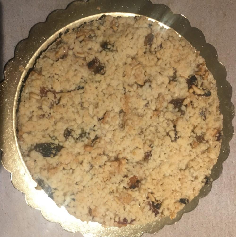 Crumble di mele, pinoli e uvetta sultanina Hotel 900 Cake Torta Homemade Fatta in casa
