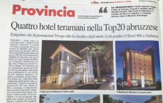Hotel 900 Giulianova Top ten best hotel Il resto del carlino Luxury Business Leisure Vacanza