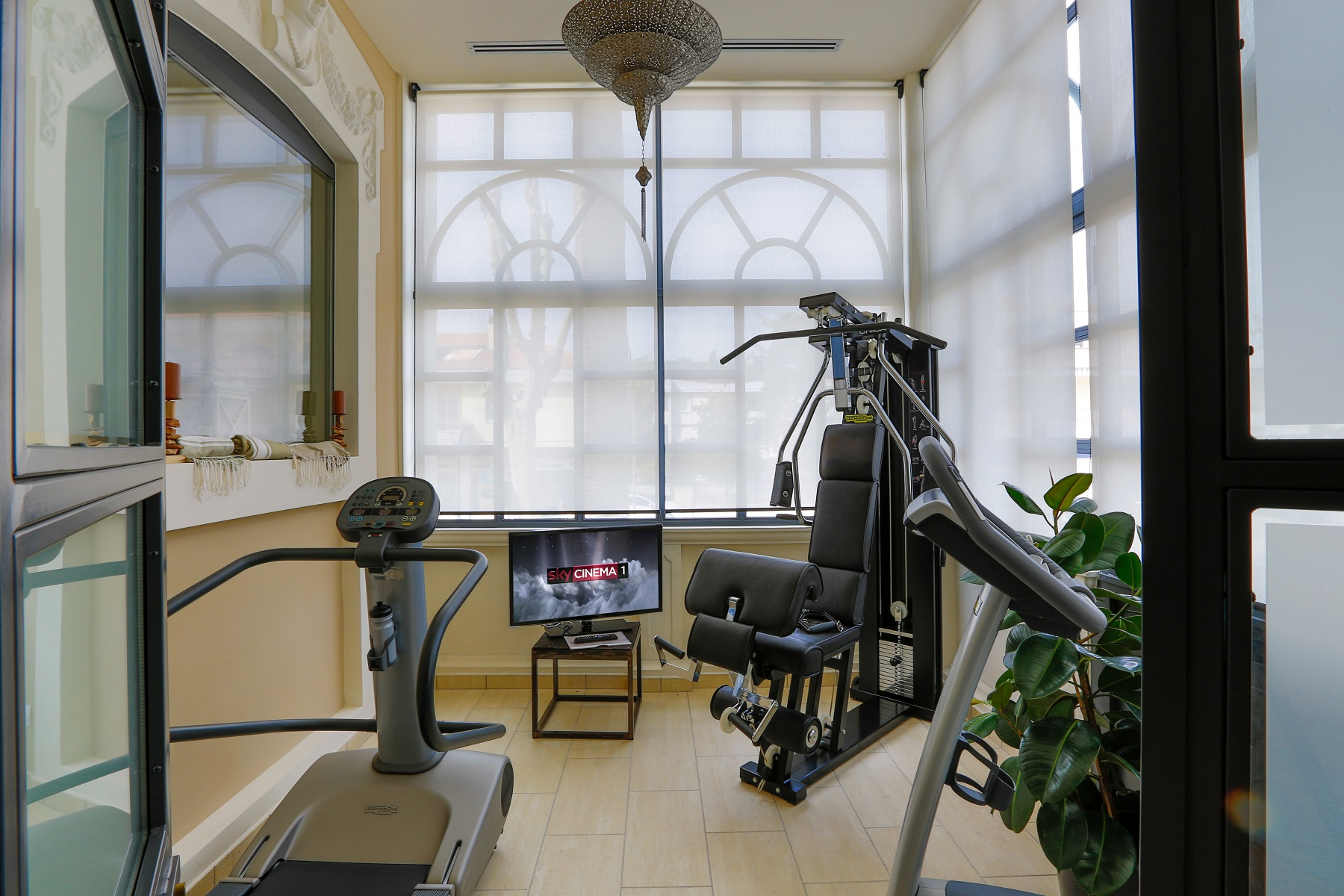 Sala Wellness Hotel 900 Giulianova Technogym