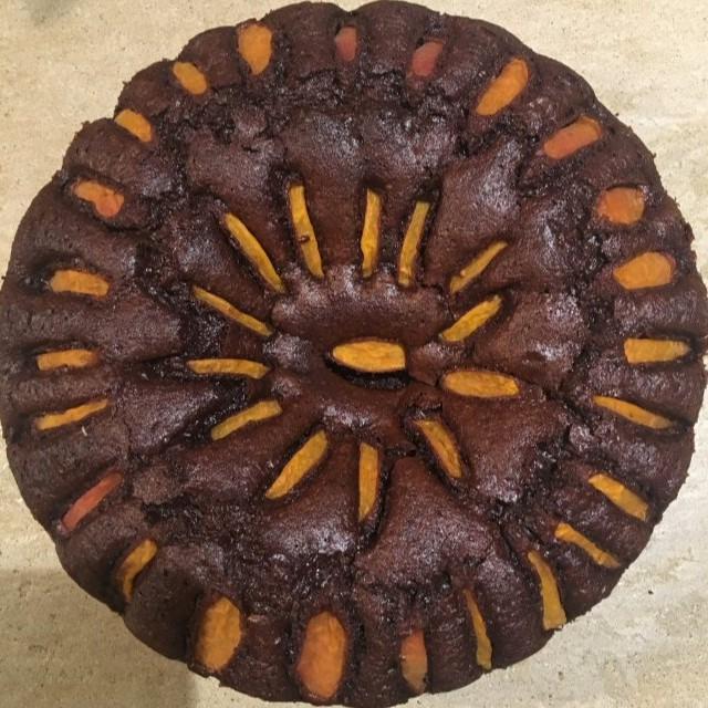Torta cioccolato e albicocche Hotel 900 Cake Torta Homemade Fatta in casa