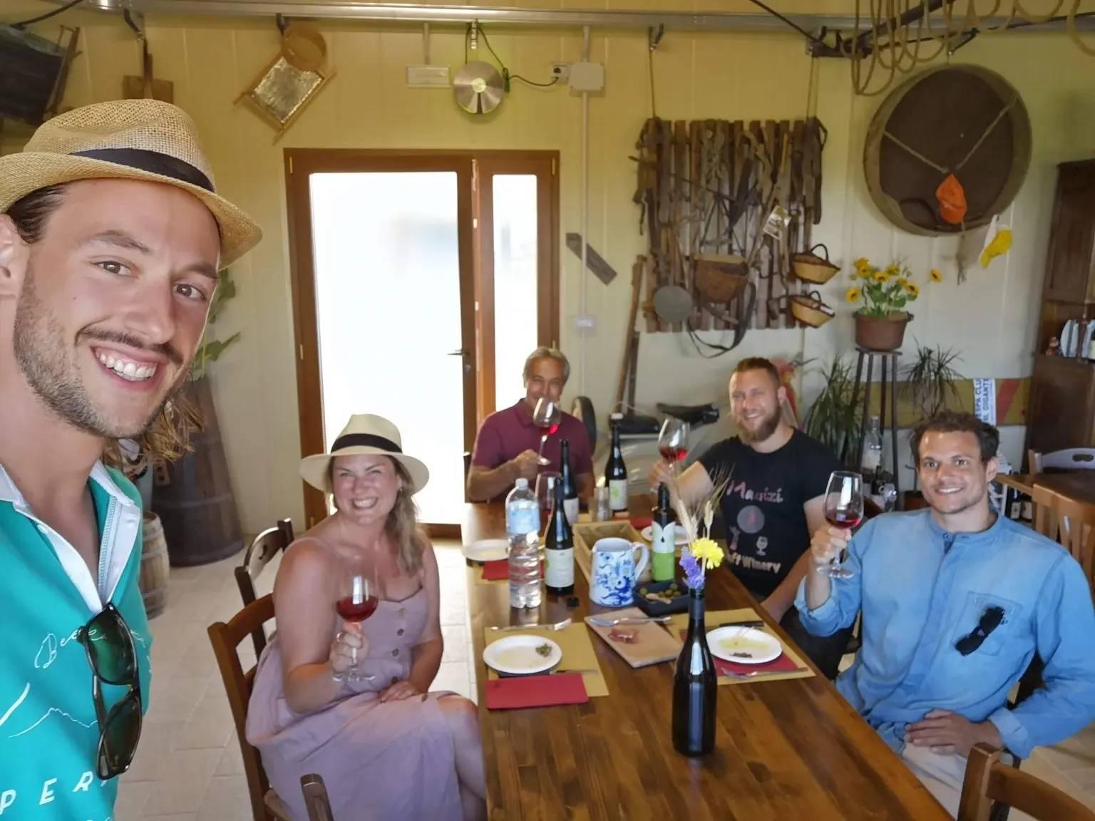 Degustazione Vini Esperienza Abruzzo