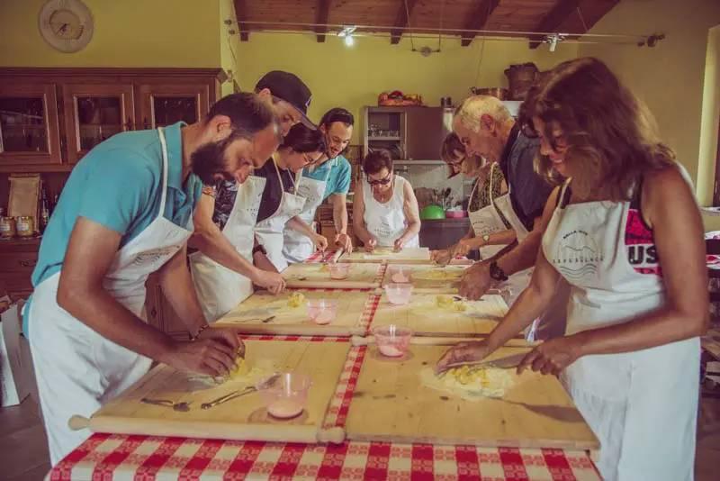 Pasta making Esperienza Abruzzo